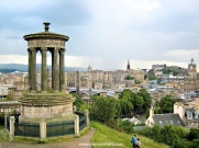 The classic shot from Calton Hill overlooking the city.