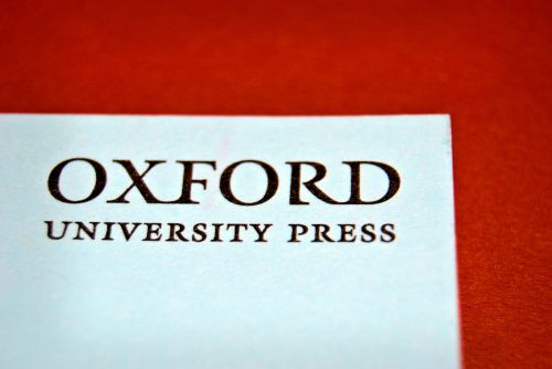 Nope, we are no Oxford University Press