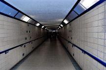 Lit Tunnel
