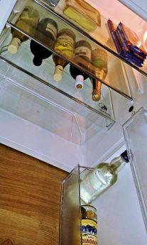 A divorcee's fridge