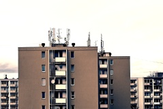 Stacked tenements