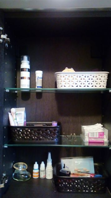 Cosmetics baskets