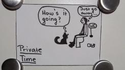 Private time routine