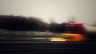 I think the bus is speeding