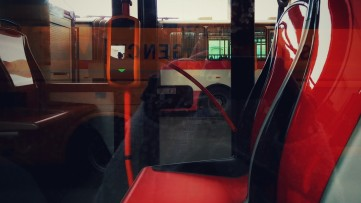 A bus through a bus