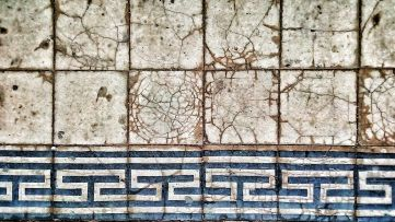 (Not) historically valuable tile floor